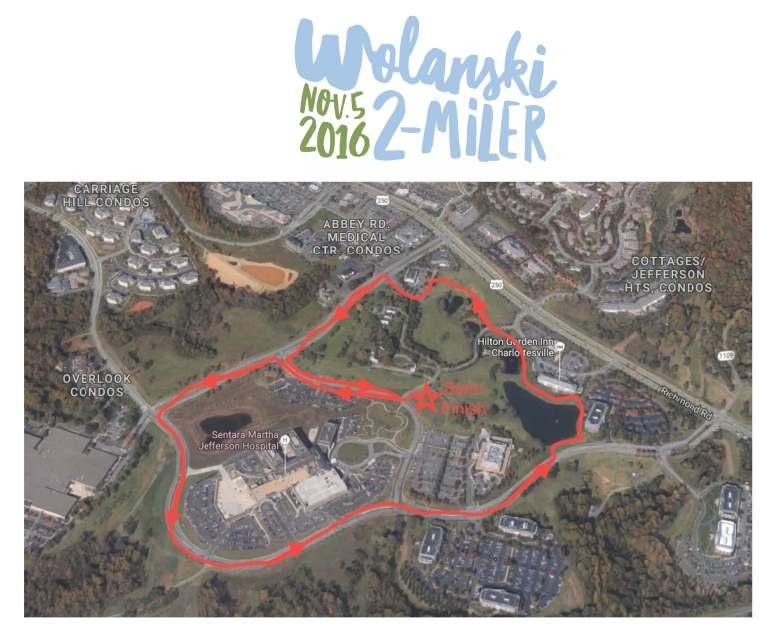 Wolanski 2 Miler Course